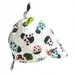 Bawełniana chusta z daszkiem Ladybird