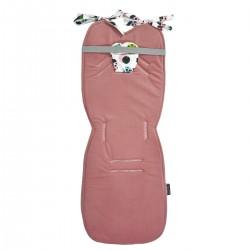 Stroller Pad Dusty Rose Ladybird - Velvet
