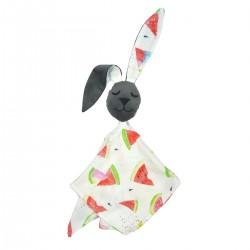Snuggle Baby Rabbit 100% Bamboo Dark Grey Juicy