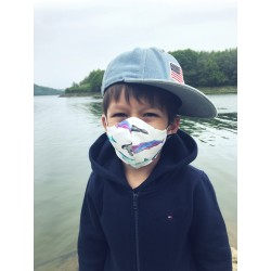 Streertwear Mask Ocean - Child (4-12 years)