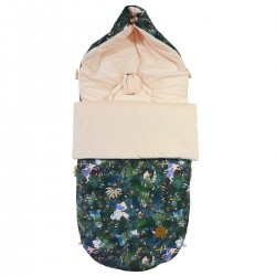Stroller Bag Peach Rainforest Velvet L/XL (1-3 years)