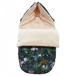 Stroller Bag S/M (0-1 year) Peach Rainforest Velvet