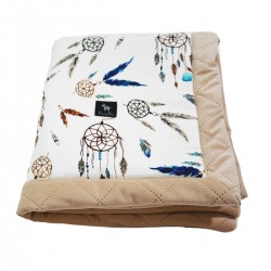 Newborn Blanket 60x70cm Latte Sweet Dreams - Velvet