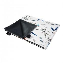 Medium Blanket Light 75x100cm Dark Grey Sweet Dreams - Velvet