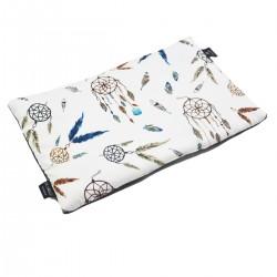 Preschooler Bed Pillow 40x60 Dark Grey Sweet Dreams - Velvet