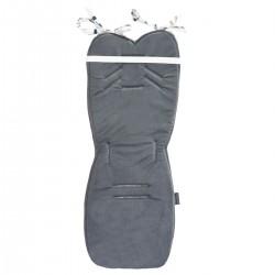 Stroller Pad Dark Grey Sweet Dreams - Velvet