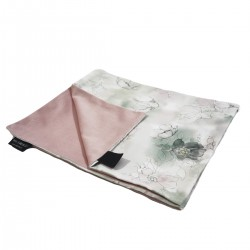 Kocyk Letni Dusty Rose Flower Jam 60x70cm - Velvet