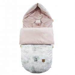 Śpiworek Zimowy Sepia Rose Flower Jam Velvet L/XL (1-3 lat)