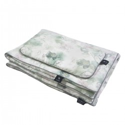 Beddings with Filling 100x135cm Grey Flower Jam