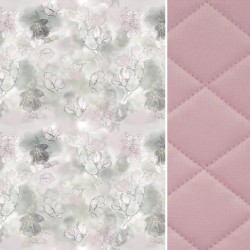 Koc Sepia Rose Flower Jam 140x200 - Velvet
