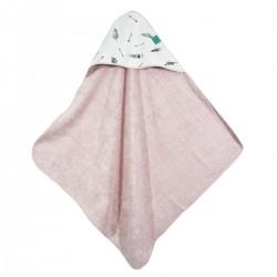 Bambusowy Ręcznik z Kapturem Sepia Rose Pure