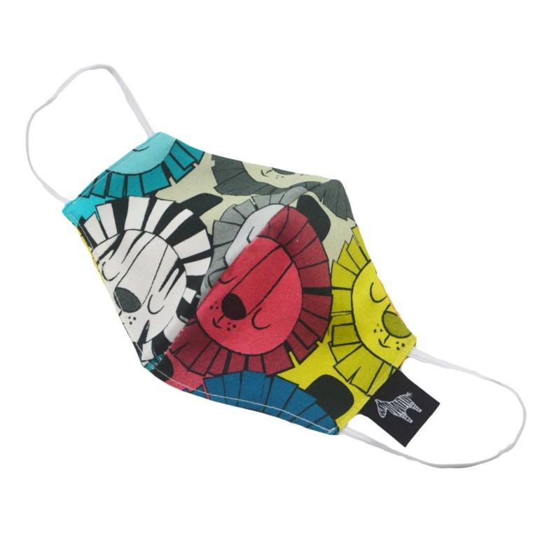 Maseczka Streetwear Lazy Leo - Dziecięca (4-12lat)