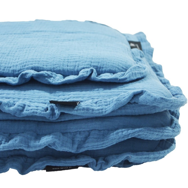 Pościel z Wypełnieniem Cotton Muślin Demin 70x100cm