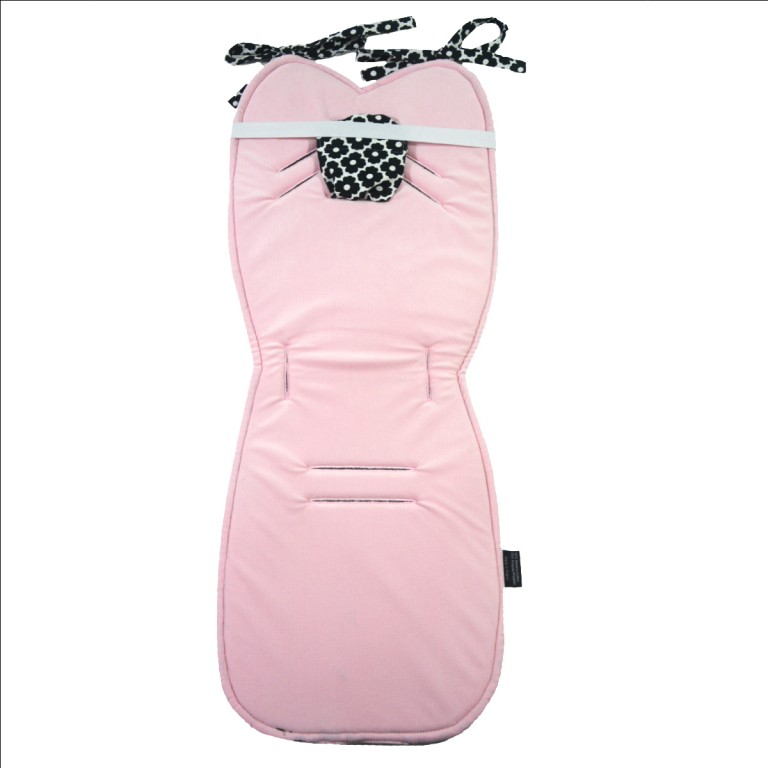 Wkładka do wózka Pink Blossom - Velvet