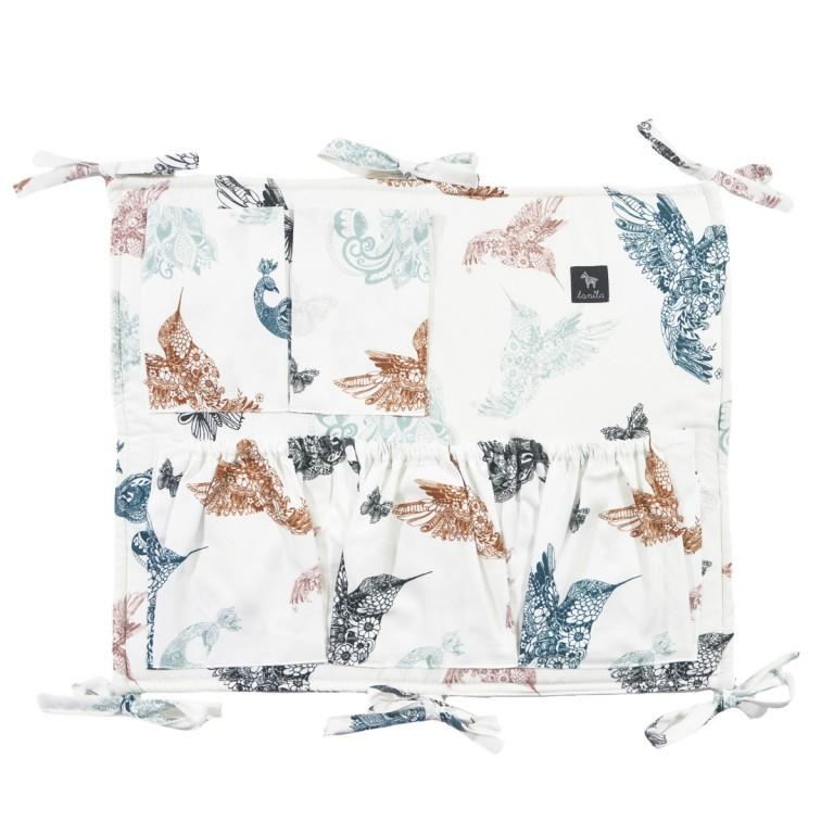 Organizer/Przybornik do łóżeczka Mandala Birds