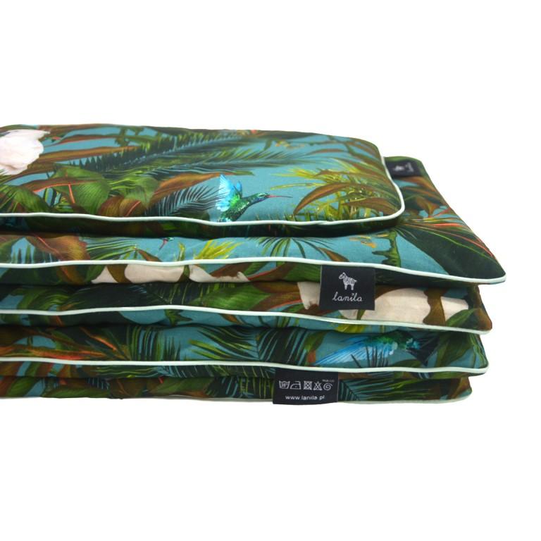 Bawełniana Pościel z Wypełnieniem Mint Tropical 100x135cm