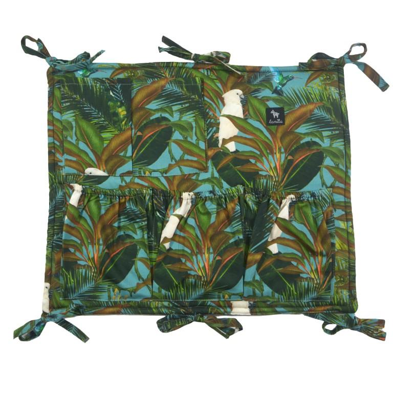Organizer/Przybornik do łóżeczka Tropical