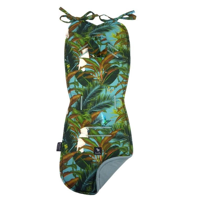 Wkładka do wózka Khaki Tropical - Velvet