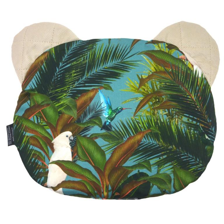 Poduszka Miś - Velvet Latte Tropical