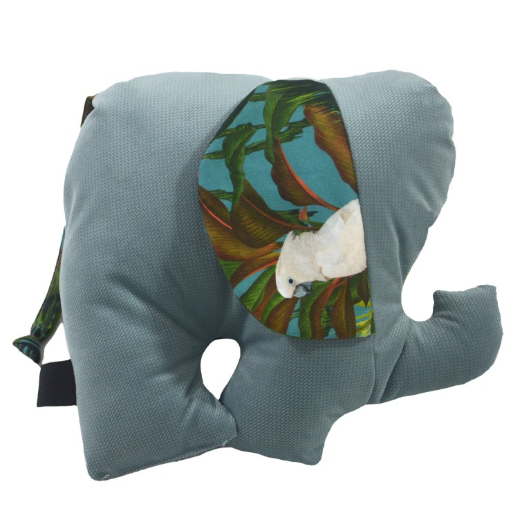 Poduszka - przytulanka Lucky Guy Khaki Tropical