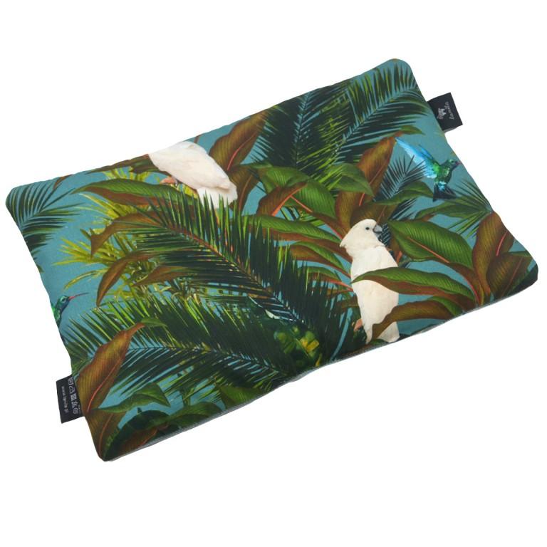 Poduszka Velvet 25x40 Khaki Tropical