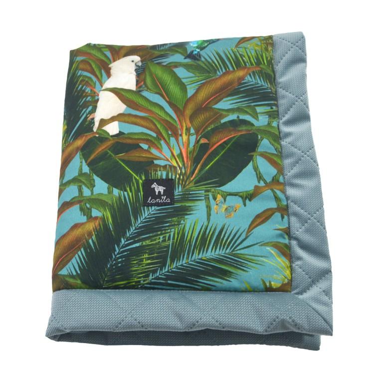 Kocyk Velvet 60x70 Khaki Tropical