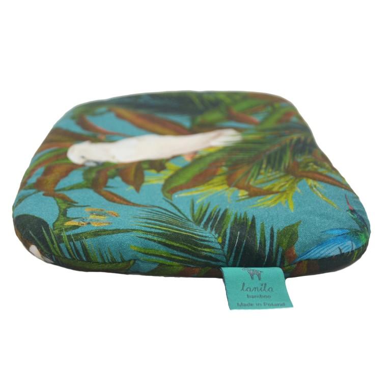 Bambusowa Poduszka Niemowlaka Tropical 20x30