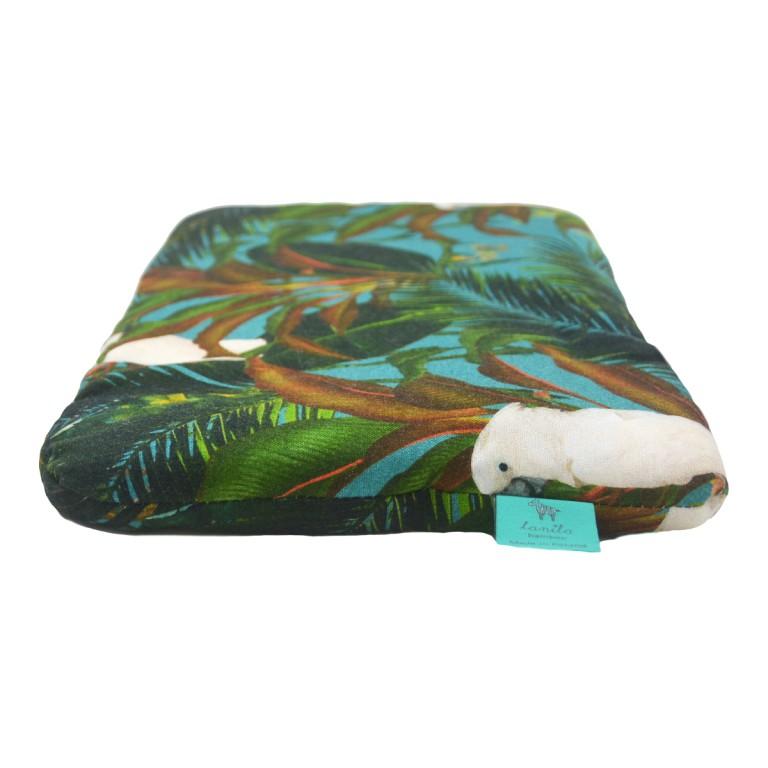 Bambusowa Poduszka Średniaka Tropical 25x40cm