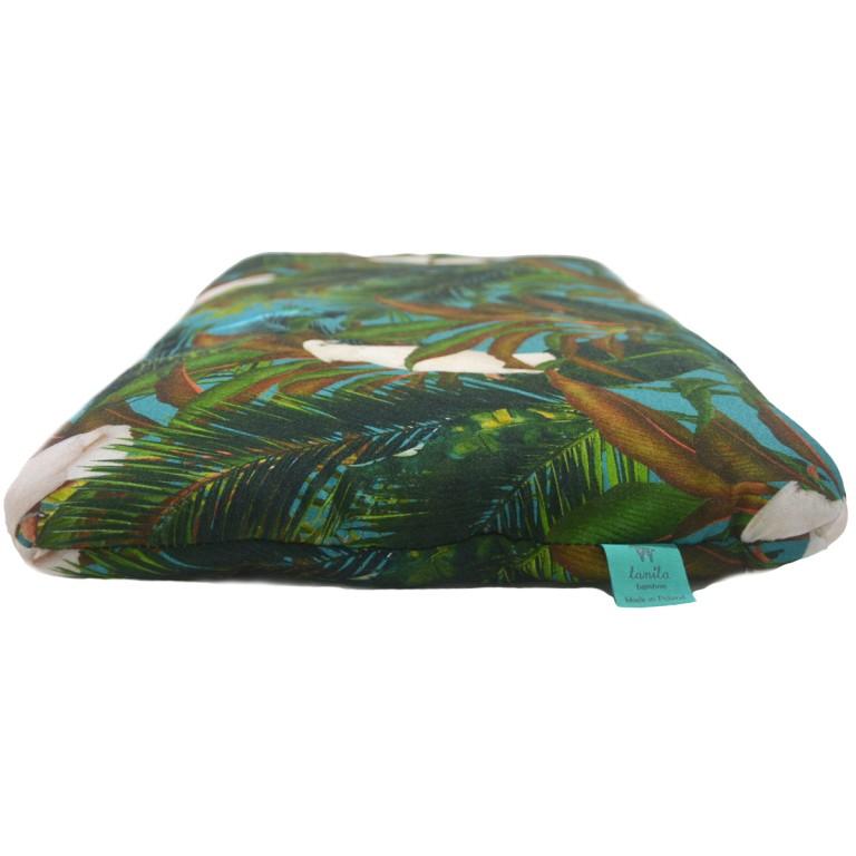 Bambusowa Poduszka Przedszkolaka Tropical 40x60cm