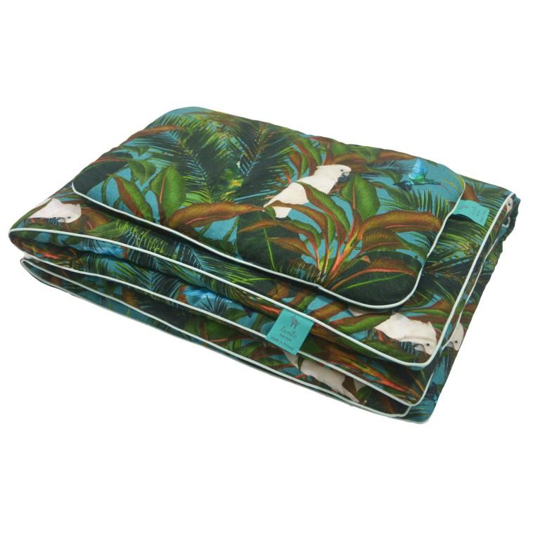 Bambusowa Pościel z Wypełnieniem Mint Tropical 75x100