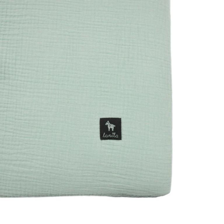 Prześcieradło Cotton Muślin Mint 60x120cm