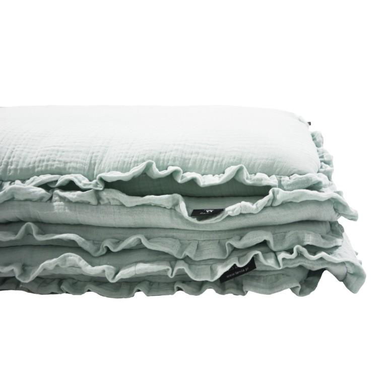 Pościel z Wypełnieniem Cotton Muślin Mint 100x130cm