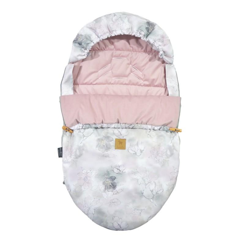 Spring Stroller Bag S/M (0-1 year) Sepia Rose Flower Jam Velvet