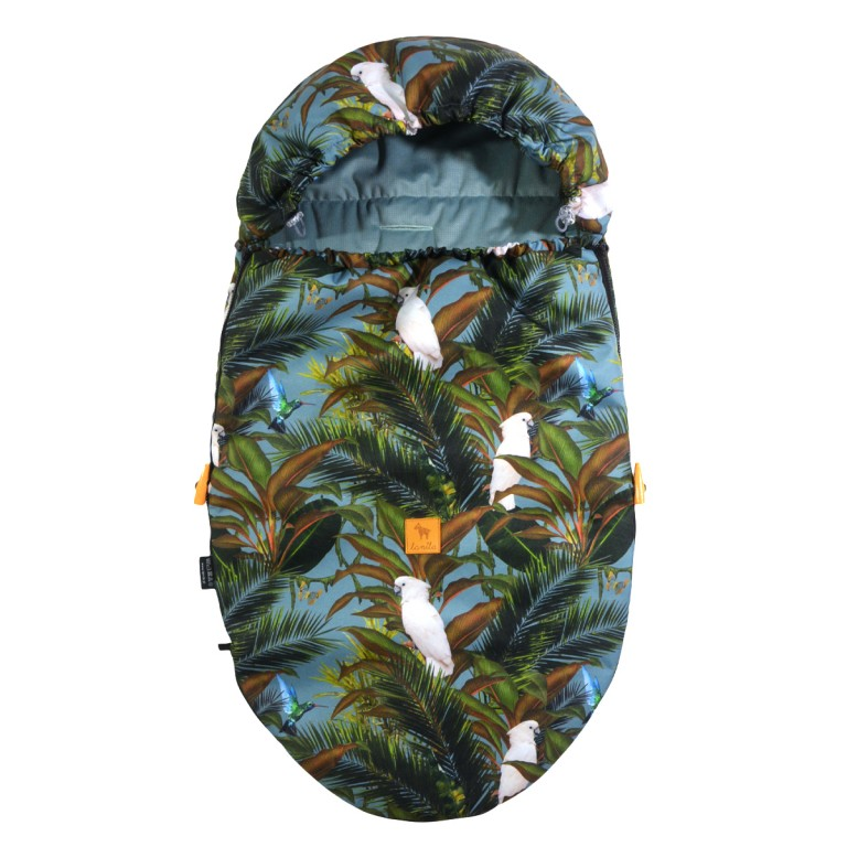 Spring Stroller Bag S/M (0-1 year) Khaki Tropical Velvet