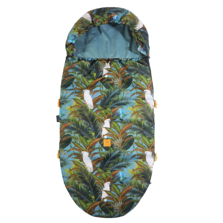 Spring Stroller Bag Khaki Tropical Velvet L/XL (1-3 years)