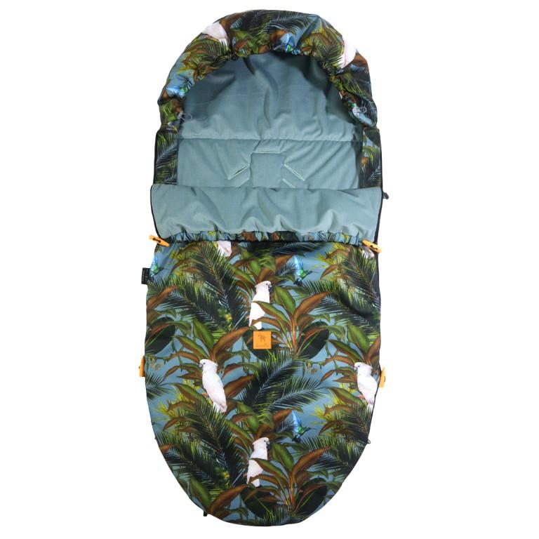 Śpiworek Wiosenny Khaki Tropical L/XL (1-3 lat)