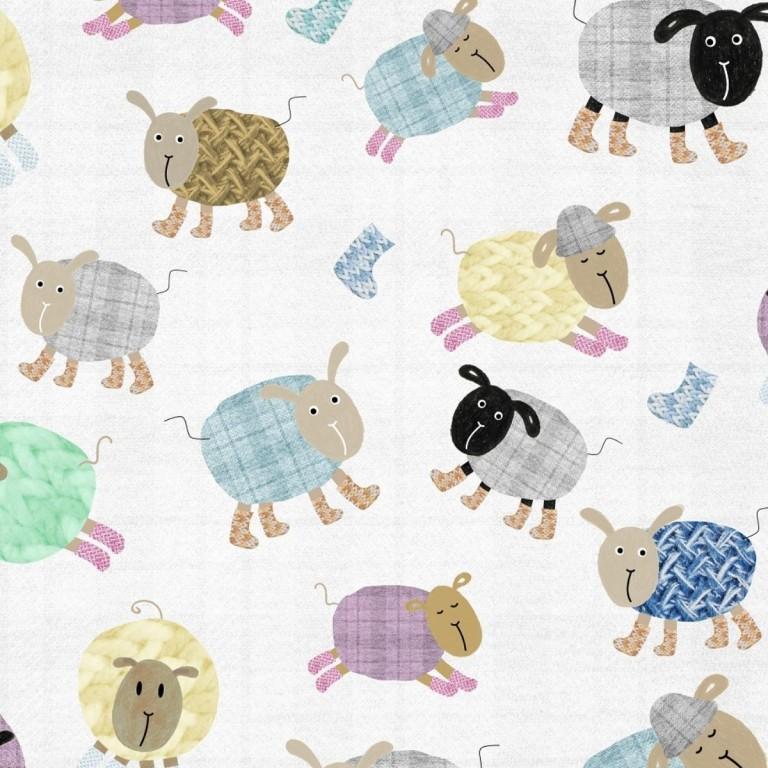 Pościel bawełniana Cotton Sheep 90 x 120cm