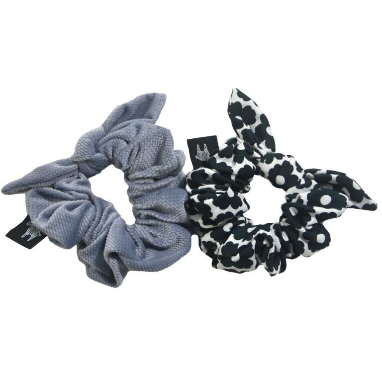 Zestaw Frotek Grey Velvet/Blossom