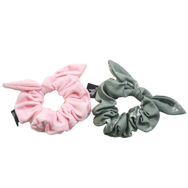 Zestaw Frotek Pink Velvet/Feathers