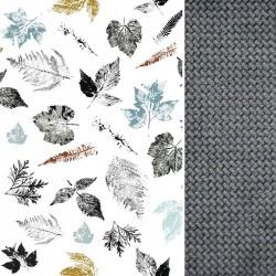 Śpiworek Wiosenny Dark Grey Goldenprint L/XL (1-3 lat)