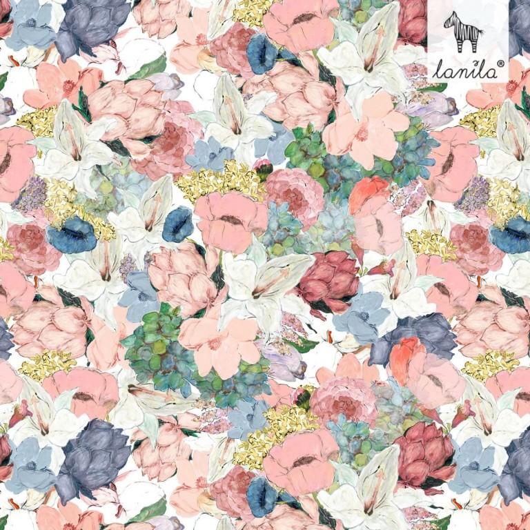 Pościel bawełniana Lucy Bloom 100 x 135cm