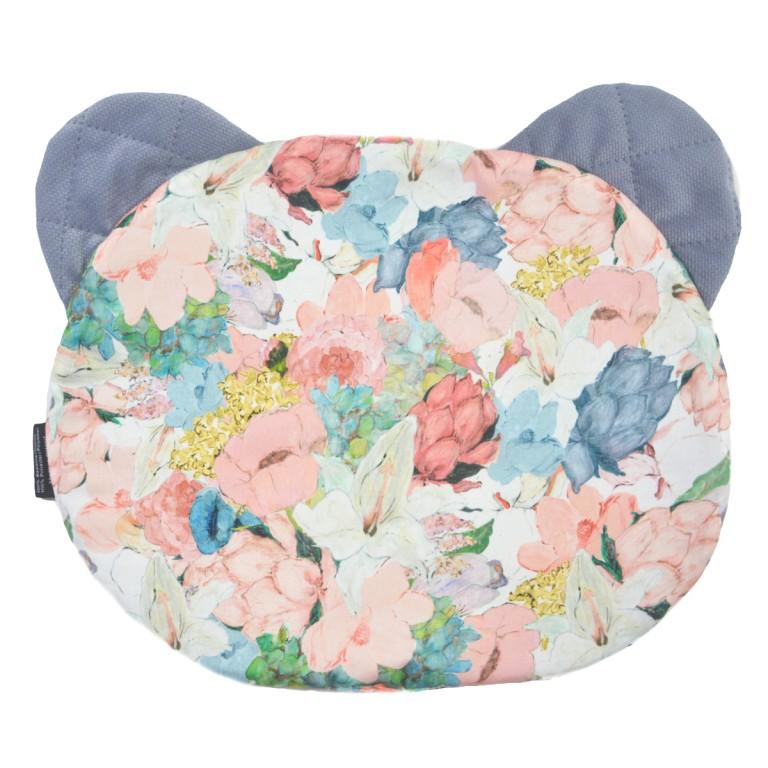 Poduszka Miś - Velvet Grey Lucy Bloom