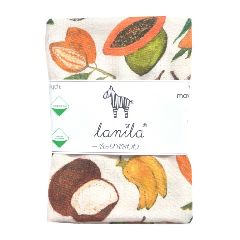 Pieluszka Bambusowa Coco&Banana 75x75cm