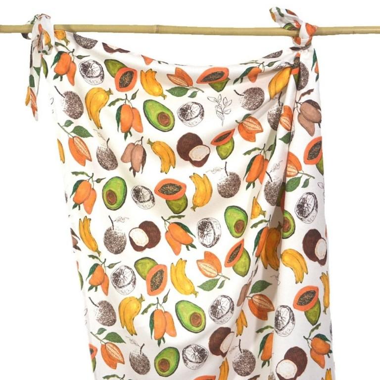 Otulacz Bambusowy 100% Coco & Banana 75x100cm