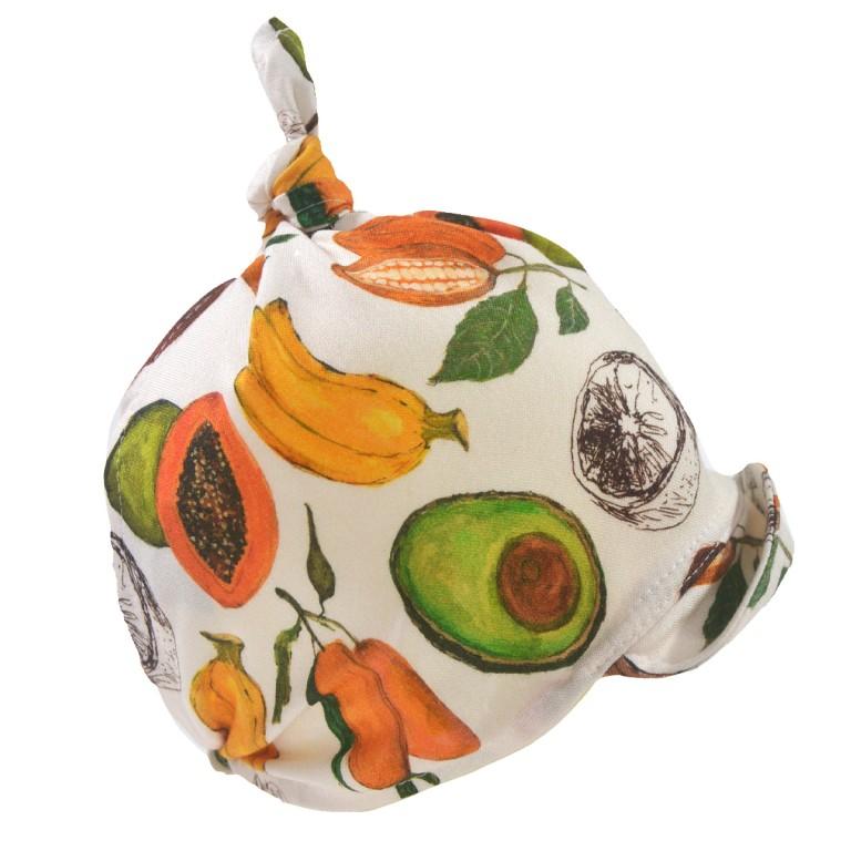 Bambusowa chusta z daszkiem Coco & Banana