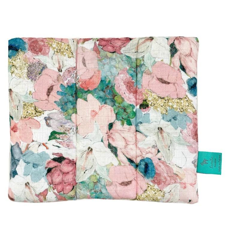 Muślinowa poduszka dla Niemowlaka Lucy Bloom 28 x 24cm