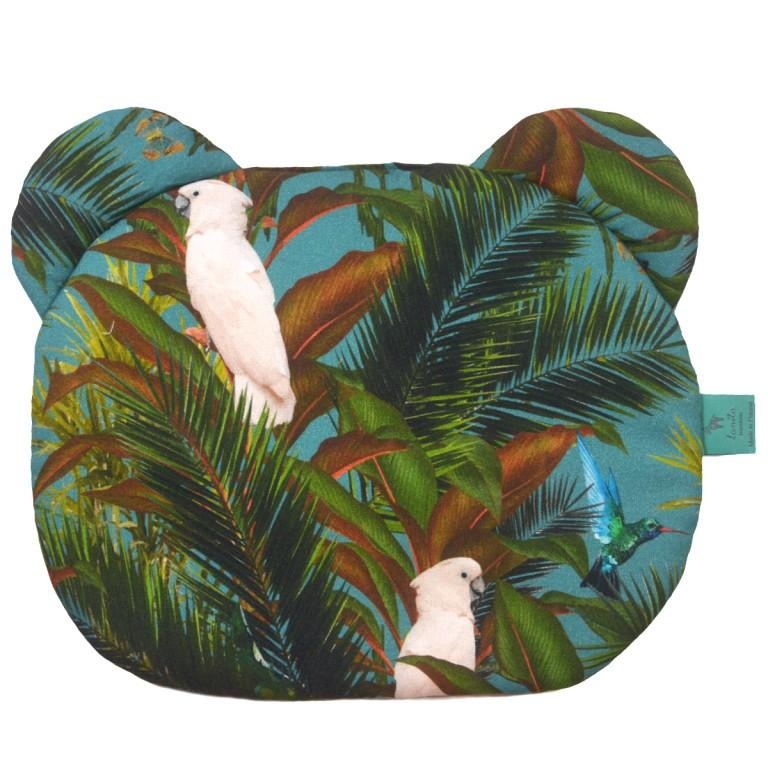 Bambusowa Poduszka Miś - Tropical