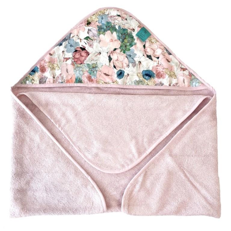 Bambusowy Ręcznik z Kapturem Sepia Rose Lucy Bloom