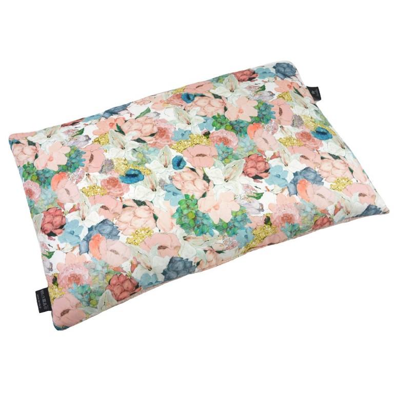 Preschooler Bed Pillow 40x60 Grapefruit Rose Lucy Bloom - Waffel