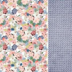 Śpiworek Wiosenny Grey Lucy Bloom L/XL (1-3 lat)